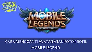 Cara mengubah avatar profil ml bangbang
