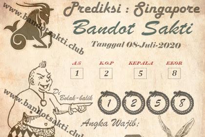Syair Bandot Sakti Togel Singapore Rabu 08 Juli 2020