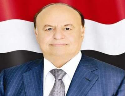 الرئيس اليمني يوجه بتشكيل لجنة للتحقيق في تداعيات العمل الارهابي الذي استهدف مطار عدن
