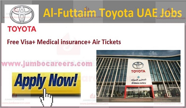 Al-Futtaim Toyota Dubai careers 202  Al-Futtaim Toyota Dubai jobs UAE 2021 