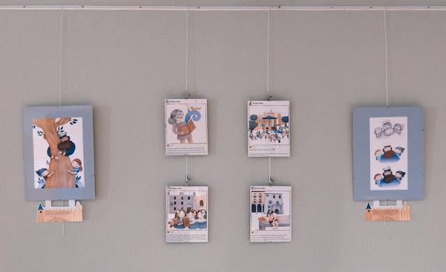 Muestra exposición Segovia de cuento - ilustraciones infantiles
