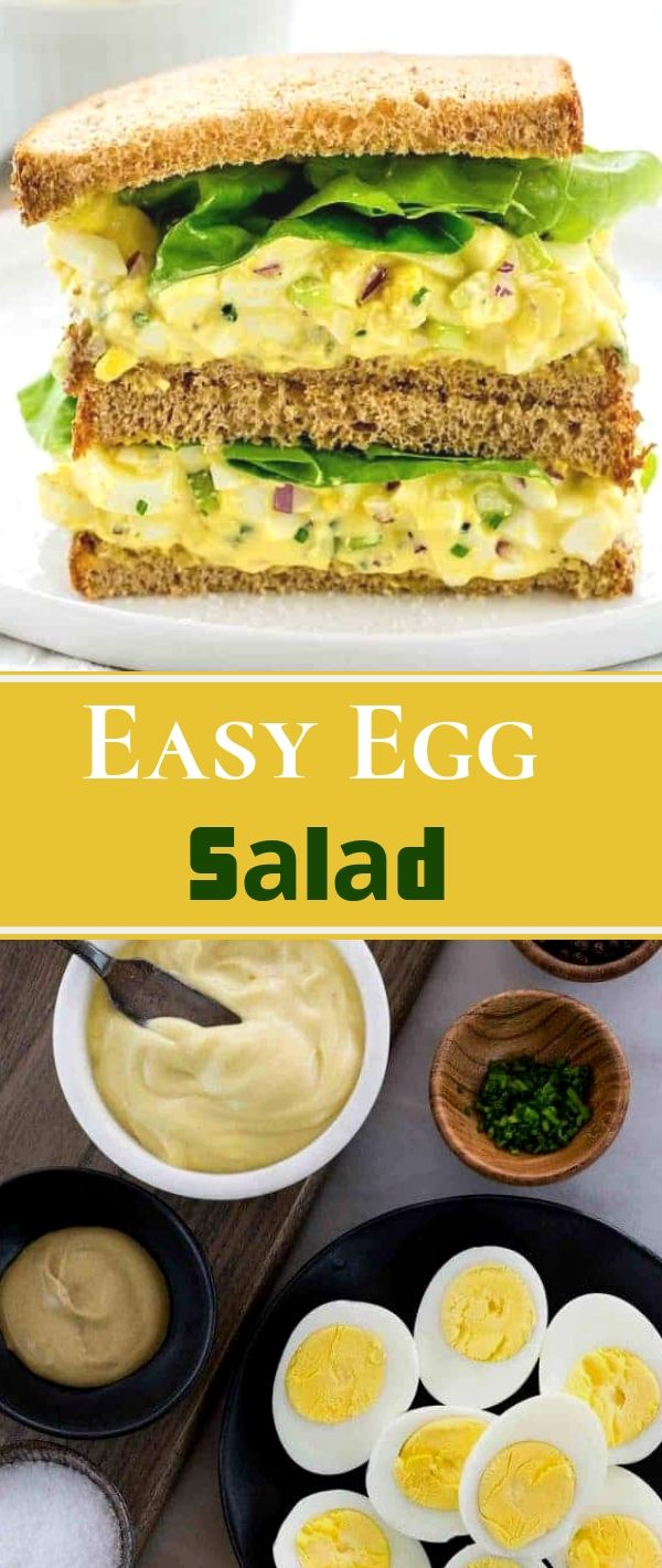 Eаѕу Egg Sаlаd #Eаѕу #Egg #Sаlаd Healthy Recipes For Weight Loss, Healthy Recipes Easy, Healthy Recipes Dinner, Healthy Recipes Best,