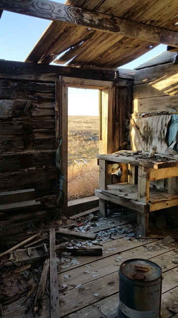 Abandoned Buildings in Cisco, Utah ghost town