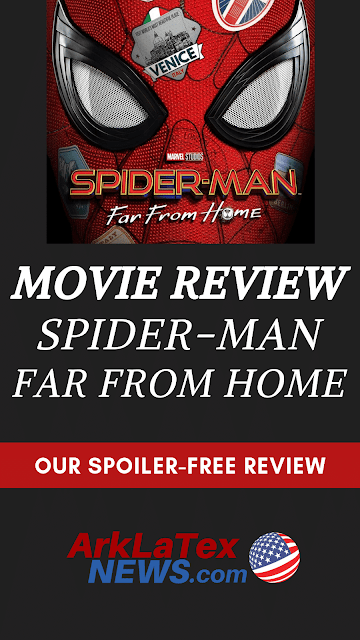 MOVIE REVIEW: Spider-Man Far From Home: Will Canton like it?