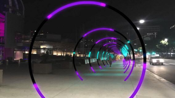 Sonic Rings Downtown San Jose