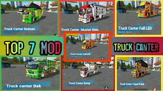 Top 7 Mod Truck Canter
