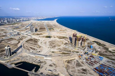 Lagos City in Sea