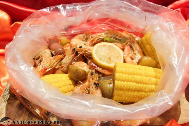 Blue Posts Boiling Crabs and Shrimps - Shrimps