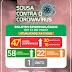 Sobe para 47 os casos confirmados de Covid-19 no município de Sousa