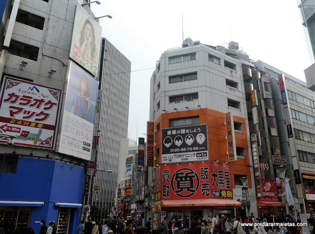 restaurantes y tiendas en Ikebukuro en Tokio