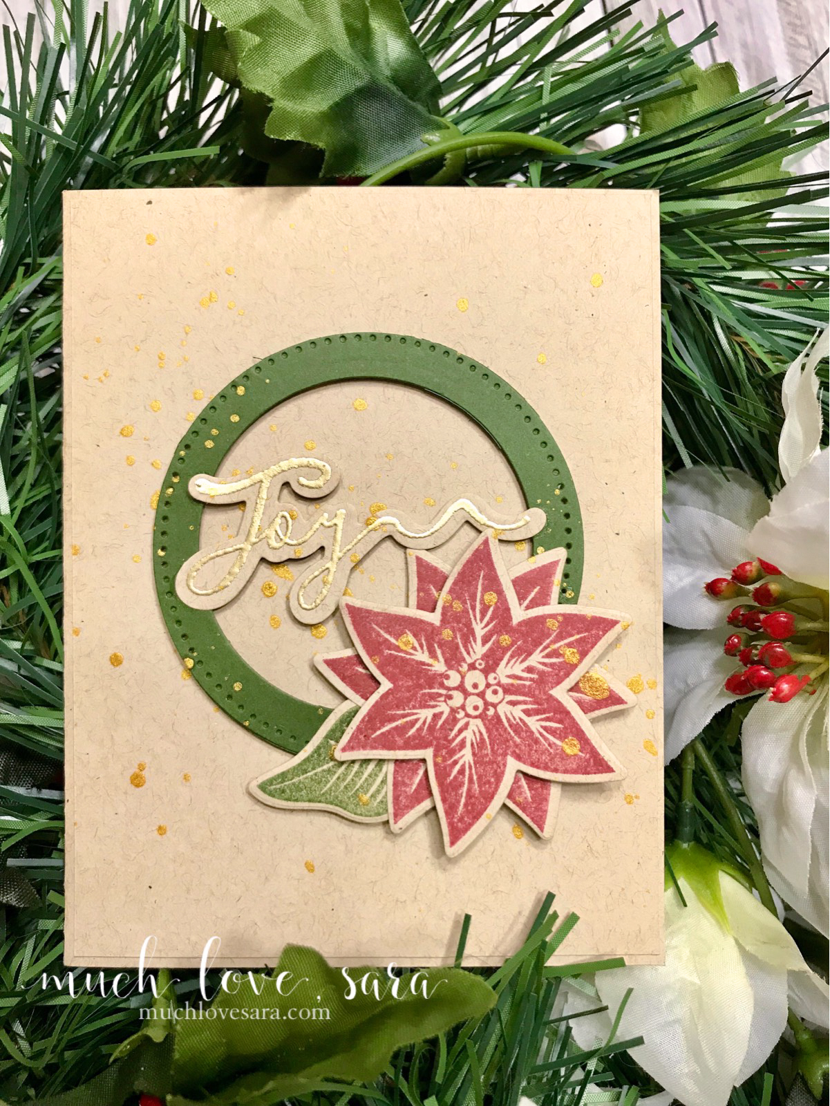 Much love, Sara | Cards & Paper projects made with love: Joyful ...