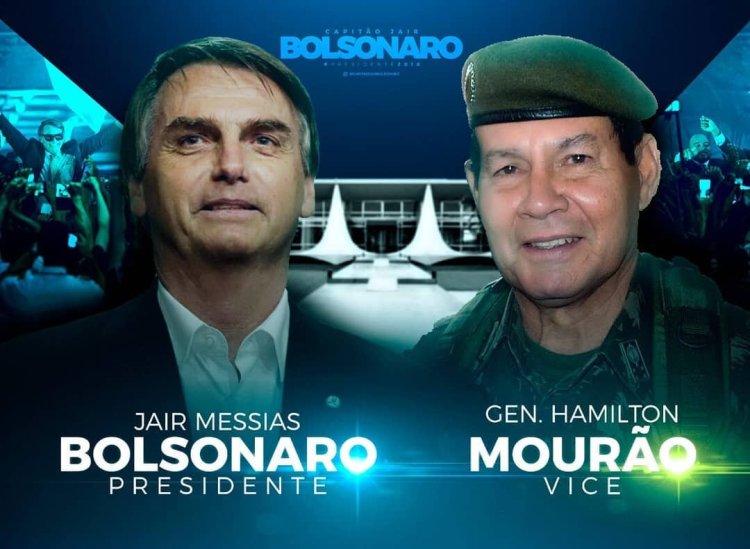 Vice de Bolsonaro defende intervenção militar caso Lula seja candidato