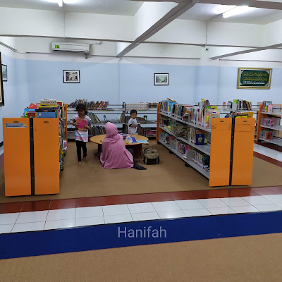 Ruang Baca Anak Perpustakaan Masjid Agung Surabaya