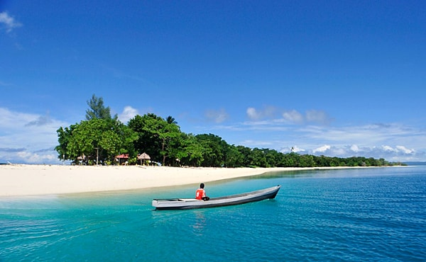 Beach at Alor Island