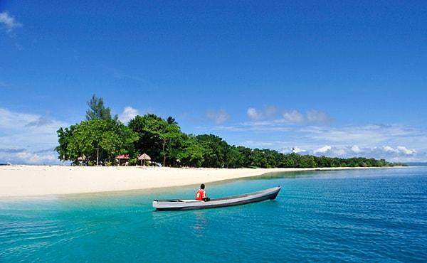 Beach at Alor Island