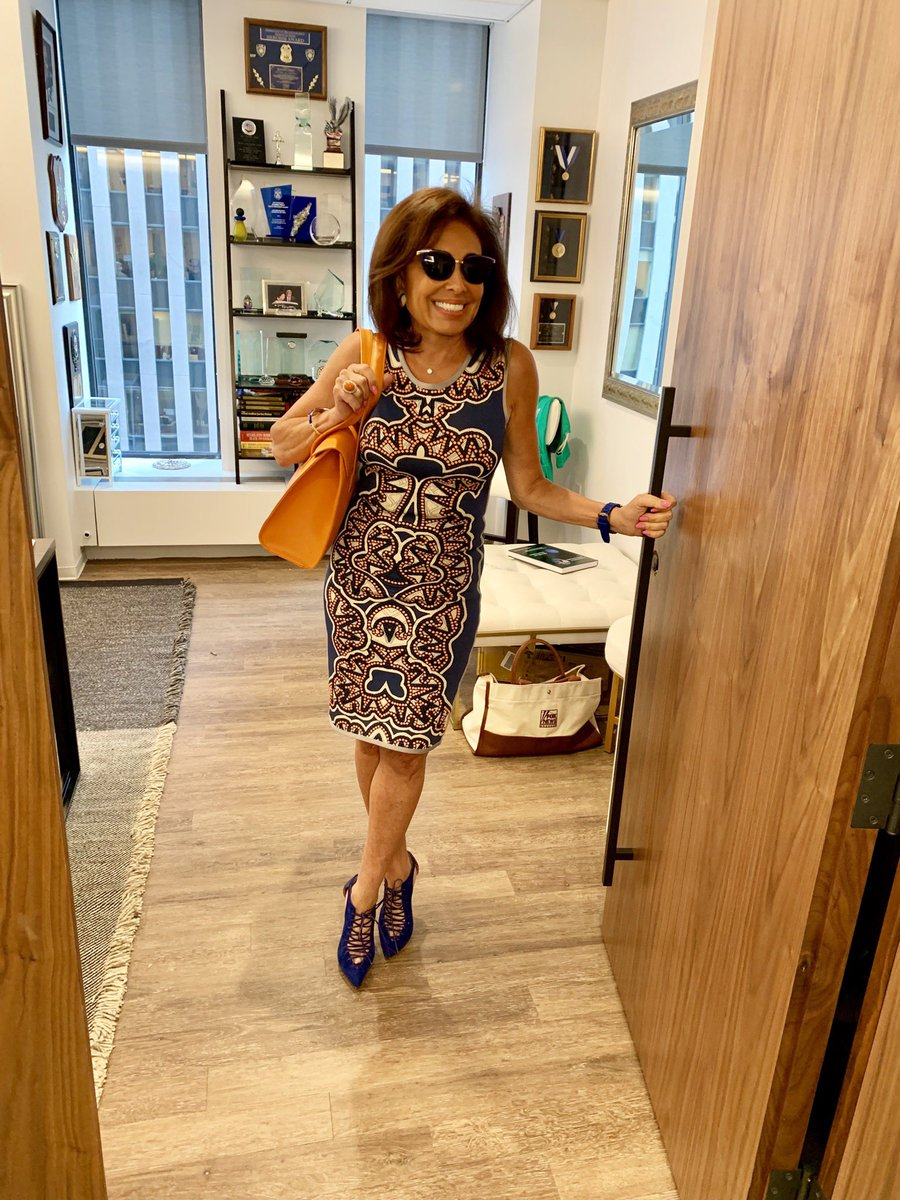 Jeanine Pirro Shares Stunning 'Heading to lunch' Photo