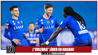"¡""CULEBRA"" LÍDER EN ARABIA!"