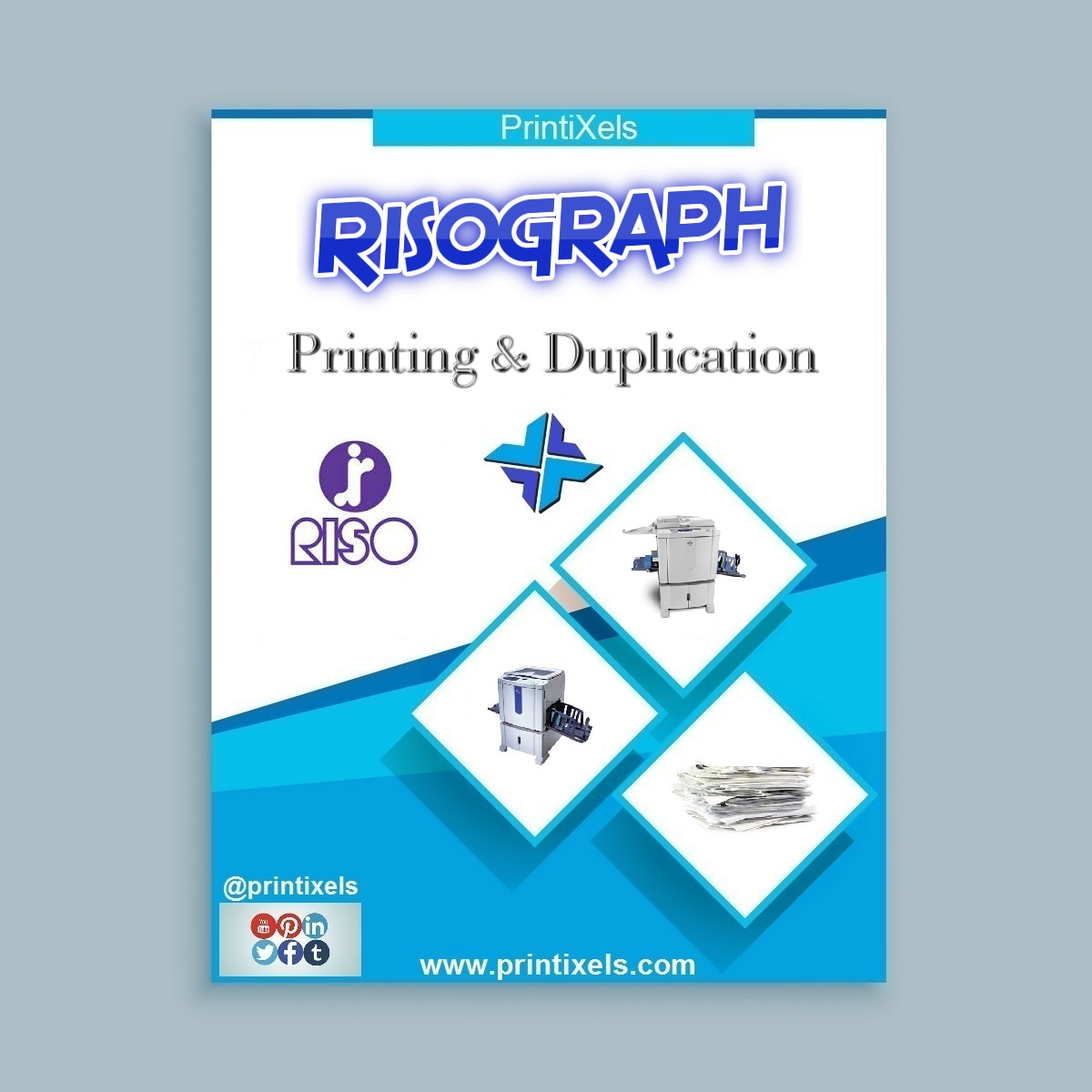 Risograph Printing & Duplication Services in Cavite