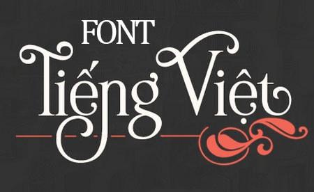 Tổng hợp các bộ Font chữ việt hóa đẹp cho dân Designer