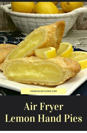 Air Fryer Lemon Hand Pies
