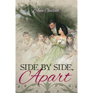 Book Cover: Side by Side, Apart by Ann Galvia