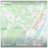 Beast Coast Trail Running Scott Snell Strava Map