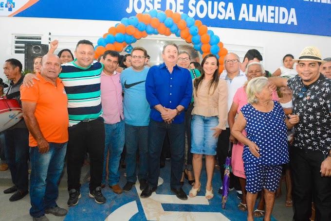 Prefeito Magno Bacelar inaugura Unidade Básica de Saúde do Bairro Campo Velho.
