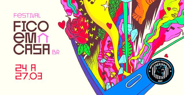 #FestivalFicoEmCasaBR começou na terça e vai até sexta-feira com + de 60 shows