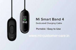 What is the price-review of Mi smart band 4 Charging cable?