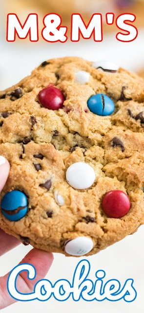 large cookie with text for pinterest