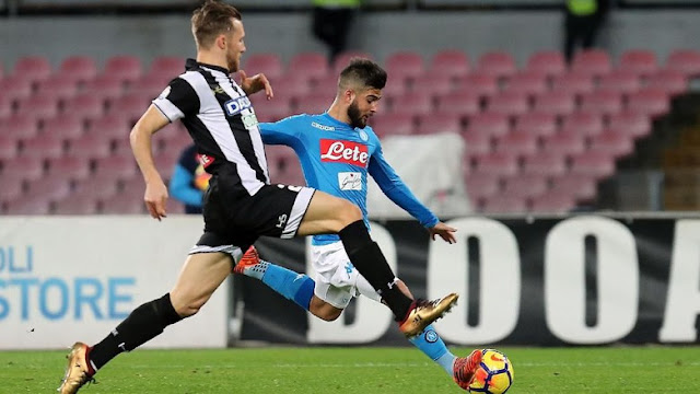 Coppa Italia: Atasi Udinese, Napoli ke Perempatfinal