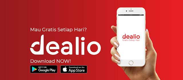 Cara Mendapatkan Pulsa Gratis dari Aplikasi Dealio Android, Ada Voucher OVO Juga!