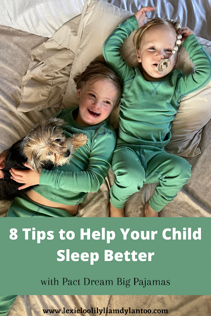 8 Tips to Help Your Child Sleep Better with Pact Dream Big Pajamas