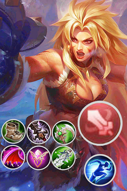 build masha mobile legend terbaik