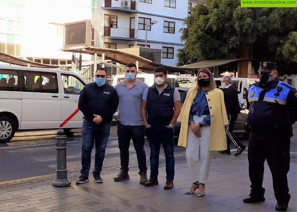 Los Llanos de Aridane realiza una campaña para controlar el intrusismo en el sector del taxi