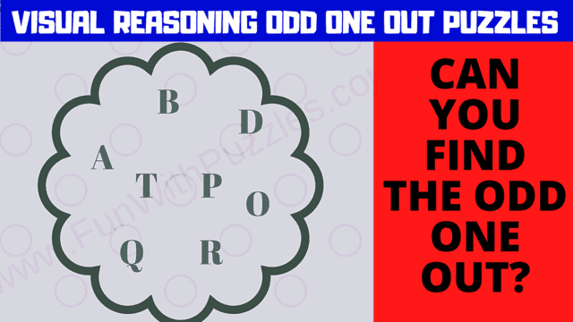 Can you find the Odd Letter Out?