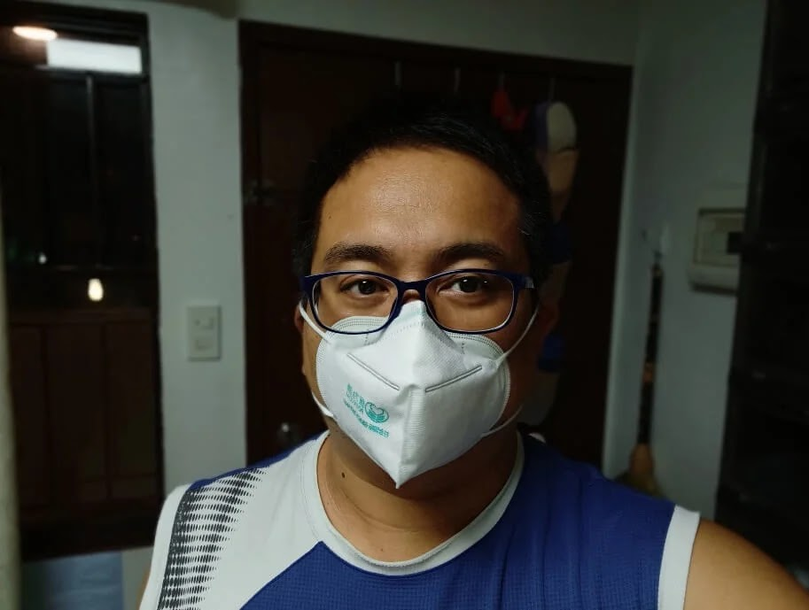 OPPO Reno3 Camera Sample - Selfie with Face Mask