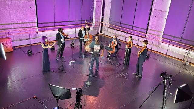 Reginald Mobley & Quodlibet Ensemble at Baryshnikov Arts Center, New York City