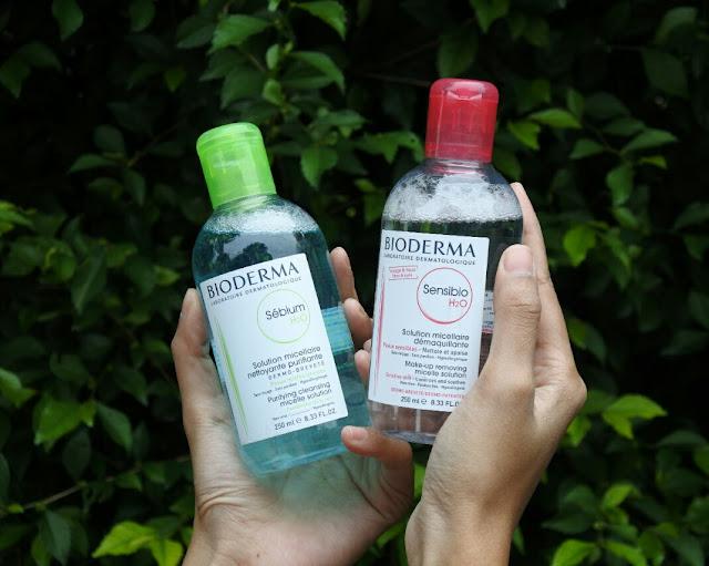 Review Bioderma Sensibio dan Bioderma Sebium