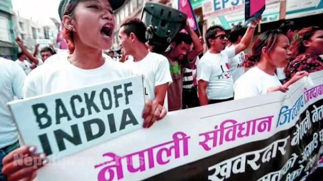 Nepali prank - Back Off India