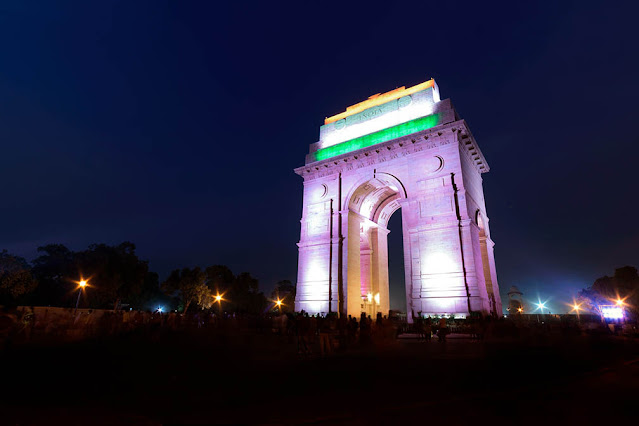India Gate special lighting