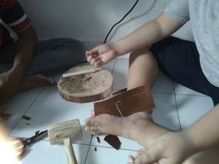 cara membuat dompet kulit handmade