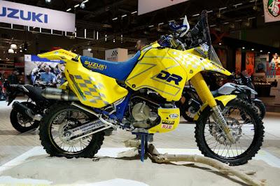 Suzuki DRZ Dakar Rally race bike 18 - Suzuki DR800S - a maior monicilindrica do mundo!