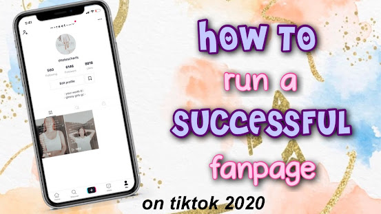 Aesthetics With Me Learn How To Run A Successful Fanpage On Tiktok