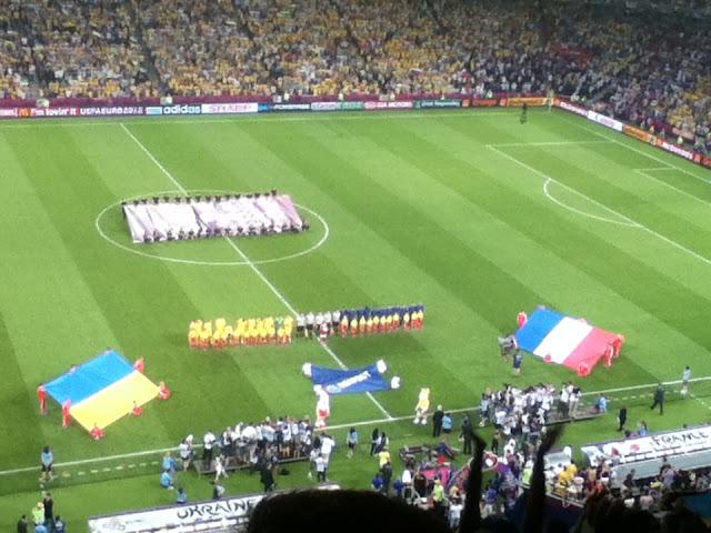 Ukraine v France, Donbass Arena, Donetsk