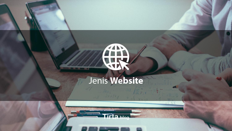 Jenis Website  berdasar fungsi dan kebutuhan