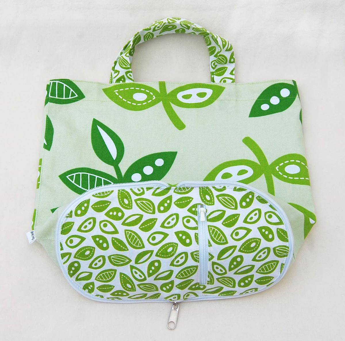 Compact Foldable Shopping Bag Tutorial