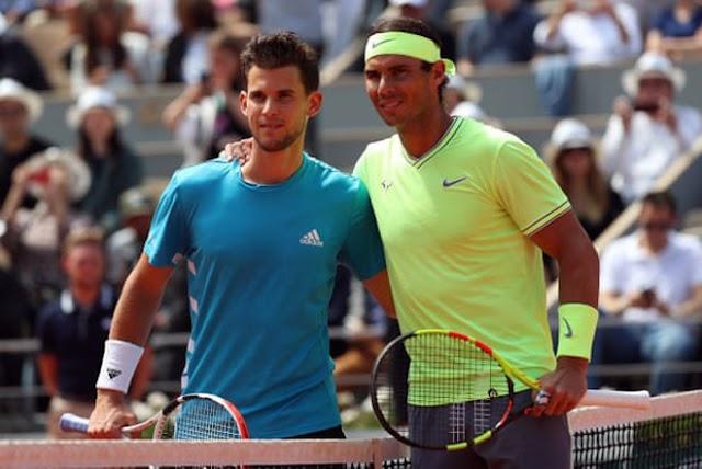 Thiem lần thứ hai bị Nadal giật cúp ở chung kết Roland Garros
