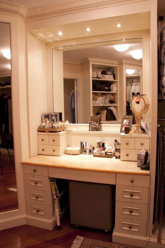 Modern-Bathroom-Makeup-Vanity-Set 20 Unbelievable Make-up Self-importance Desk Concepts Interior