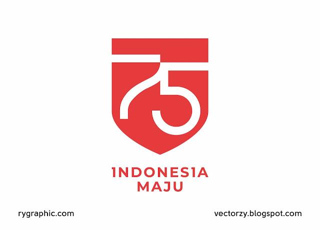 Logo HUT RI Ke-75 Tahun Versi CDR, AI dan PDF Gratis